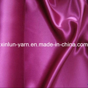 Jacquard Satin Polyester Dress Fabric for Sleepwear Underwear pictures & photos