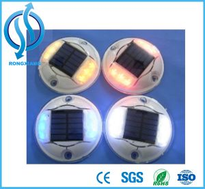Solar Road Stud/Road Marker/Cat Eye with 8 LED Beads pictures & photos