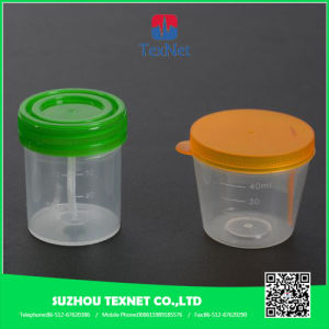 Disposable Measuring Plastic Urine Container 70ml pictures & photos