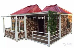 High Quality Mobile Prefabricated/Prefab House Container House for Hot Sale pictures & photos
