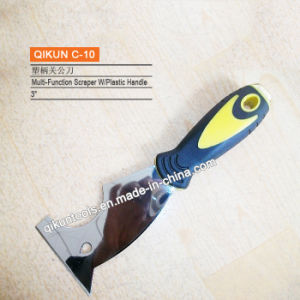 C-18 Plastic Handle Carbon Steel Mirror Polished Scraper pictures & photos