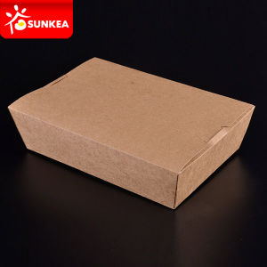 Cardboard Non Leaking Food Container pictures & photos