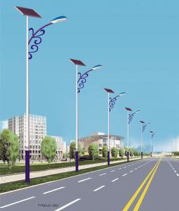 Solar Lighting with 56W, 60W LED Lamp