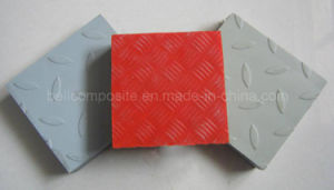 FRP/GRP Fiberglass Covered Gratings, Gratings with Flat Sheet on Top pictures & photos