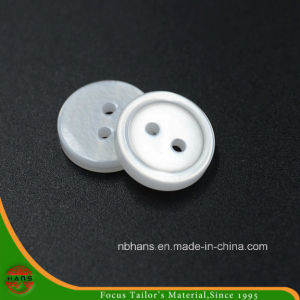 2 Holes New Design Polyester Shirt Button (S-114) pictures & photos