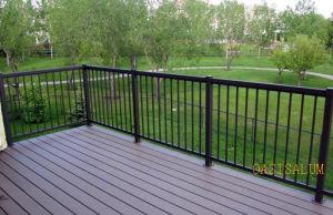 Aluminum Picket Railing (02) for Fence, Dek, Balcony, Corridor and Garden etc