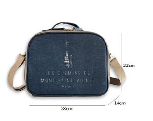 Guangzhou Supplier New Style Mommy Lunch Bag Soft Thermal Picnic Cooler with Hard Liner (CC-010)
