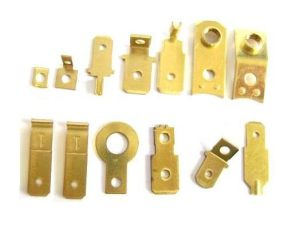 Custom Electrical Brass Contact Bracket pictures & photos