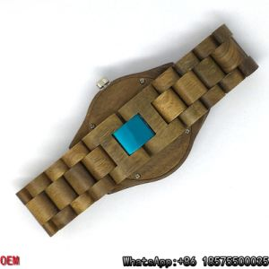Top-Quality Green Sandalwood Watch Quartz Watches Hl03 pictures & photos