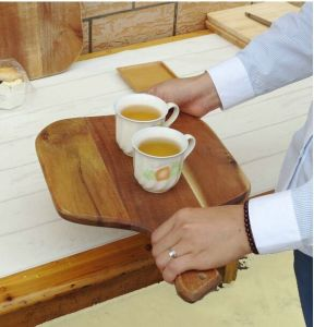 Tray for Bamboo/Wood/Coffee/Serving Tray/Fruit/Kitchenware/Tableware pictures & photos