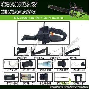 Komatsu Gasoline Chainsaw Part Spare Parts Fuel Tank Oilcan Oiler Assy 42cc 52cc 58cc 4500 5200 5800