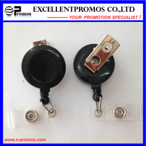 Plastic Retractable Badge Reel Holder with Plastic Case (EP-BH112-118) pictures & photos