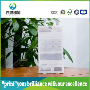 Hanging PVC Clear Packaging Plastic Box with Offset Printing pictures & photos