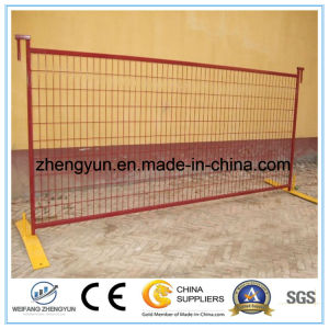 High Quality PVC Coated Temporary Fence for Canada pictures & photos