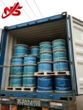 Ungalvanized Steel Wire Rope for Cableway 19X7 pictures & photos