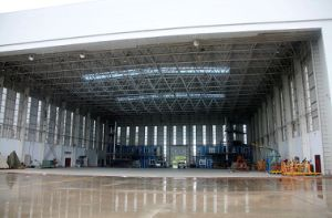 Prefabricated Space Frame Aircraft Hangar pictures & photos