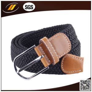 Newest Colorful Leather Elastic Strech Belt for Jeans pictures & photos
