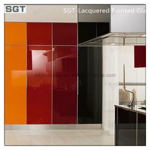 6mm Ultra Clear Low Iron Lacquered Glass for Splashbacks pictures & photos