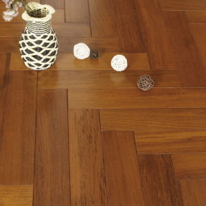 Teak Engineered Wood Flooring Fish Bone pictures & photos