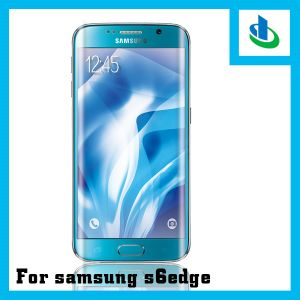 Lowest Price 3D 9h Curved Edge Tempered Glass Screen Protectors for Samsung S6 Edge (Electroplate) pictures & photos