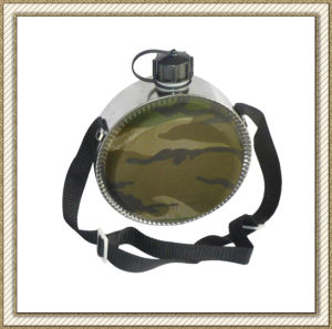 0.7L/2qt/4qt Military Camo Water Canteen with Oxford Cover Blanket pictures & photos