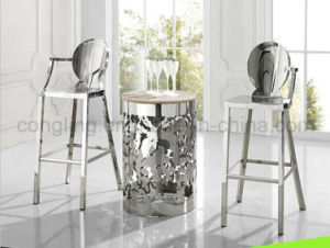 Baroque Whole Stainless Steel Bar Stool Design pictures & photos