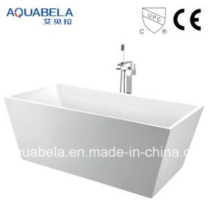 Oval Black Freestanding Bathtub (JL602) pictures & photos