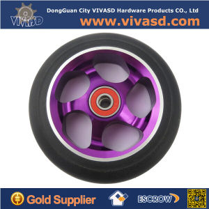 Customized High Precision 100mm/110mm Scooter Wheel pictures & photos