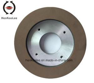 Continuous Rim Resin-Bond Diamond Grinding Wheel (Italy BMR Machine) pictures & photos