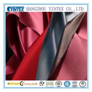 Polyester Fabric Woven Satin Style (yintex fabric) pictures & photos
