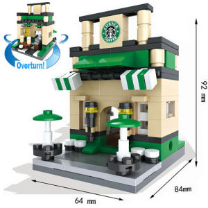 Creative Educational Toys Street Views Micro Blocks for Kids to Build Their World 10253006 pictures & photos