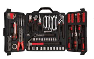95 PCS Swiss Kraft Portable Auto Repairing Tool Box Set pictures & photos