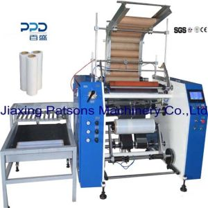 China Supplier Automatic Stretch Film Rewinder for 18kg Roll pictures & photos