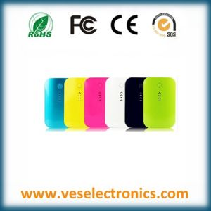 Fashionable Colored Power Bank A Grade External Battery Charger for Mobile Phone Good Traveling Gift pictures & photos