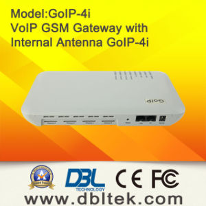 DBL 4-Channel VoIP GSM Gateway with Internal Antenna -GoIP-4I pictures & photos