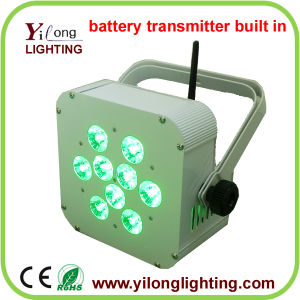 10W RGBA Battery Transmitter Built in Wedding Party Decoration pictures & photos