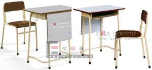 Durable Plywood Classroom Student Table for High School pictures & photos