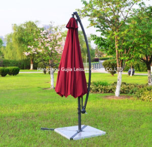 10′ Hanging Patio Sun Shade Offset Outdoor Umbrella pictures & photos