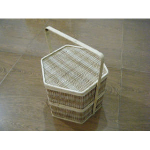 Wardrobe Soft Close Pull out Rattan Basket with Kingslide Slide pictures & photos
