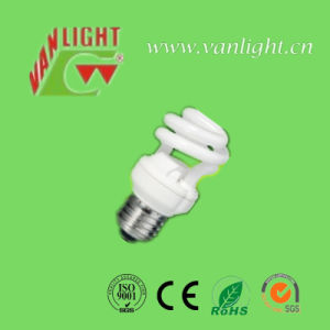 Half Spiral T2-9W Energy Saving Lamp CFL Bulb pictures & photos