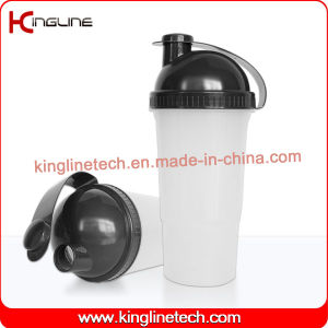 700ml Plastic Protein Shaker Bottle with Filter (KL-7019) pictures & photos