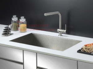 Stainless Steel Under Mount Single Bowl Handmade Kitchen Sink pictures & photos