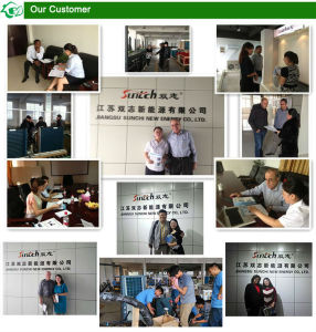 CE, CB, TUV, En14511 Domestic Home Using 220V 3kw, 5kw, 7kw, 9kw R410A Outlet 60deg. C Dhw, Cop4.28 Split Inverter Heat Pump Tankless pictures & photos