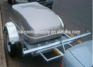Steel and Galvanized 2 Motorcycle / ATV Trailer of Manufactory (CT0303) pictures & photos