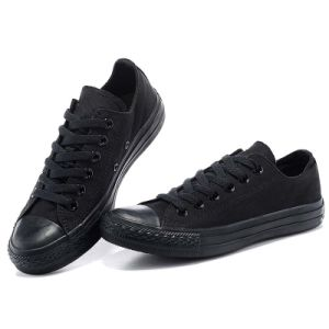 Low Price Platform Sneaker Canvas Shoe with Black Rubber Sole pictures & photos