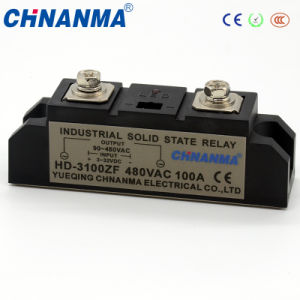 Solid State Relay Industry SSR 100A with LED Indicate pictures & photos