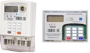 Single Phase Sts Split Keypad Prepaid/Prepayment Energy Meter pictures & photos