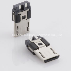 Micro USB Solder Connector Micro B Super Speed Plug Connector 5 Position pictures & photos