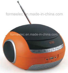 Portable Bluetooth MP3 CD Combo Player CD Boombox pictures & photos