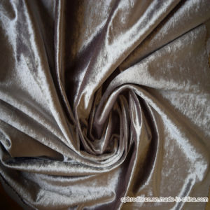Wholesales Decorative Brushed Polyester Sofa Fabric pictures & photos